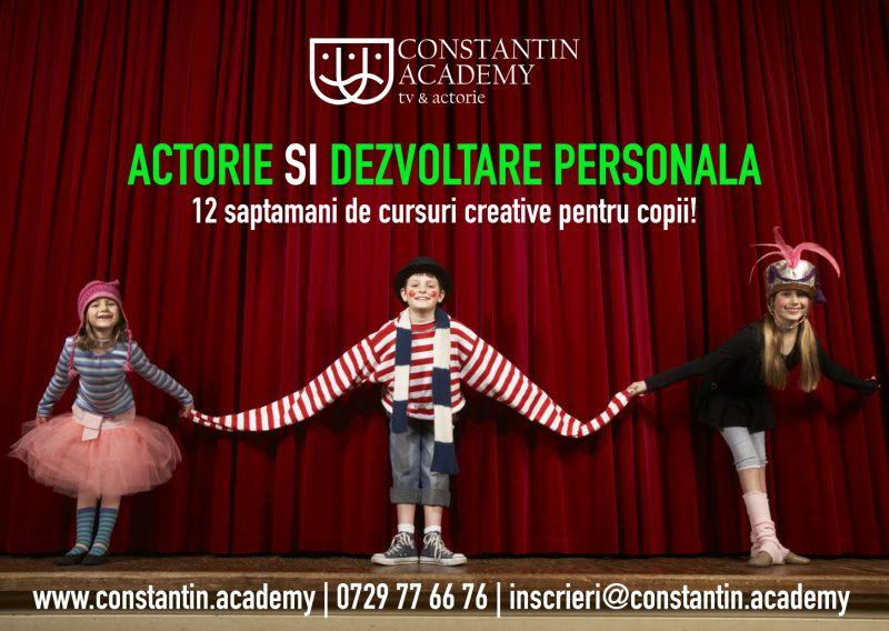 Academia care dezvolta abilitatile creative ale copilului tau!