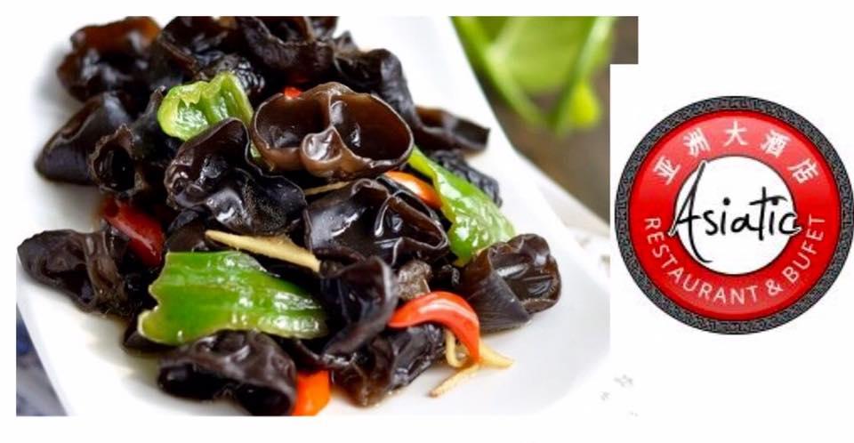 Restaurant Asiatic recomanda salata de urechi de lemn
