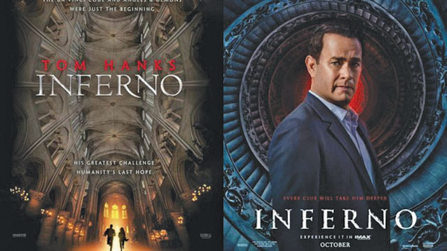 "Filmul ""Inferno"" cu Tom Hanks si actrita Ana Ularu in premiera nationala!"