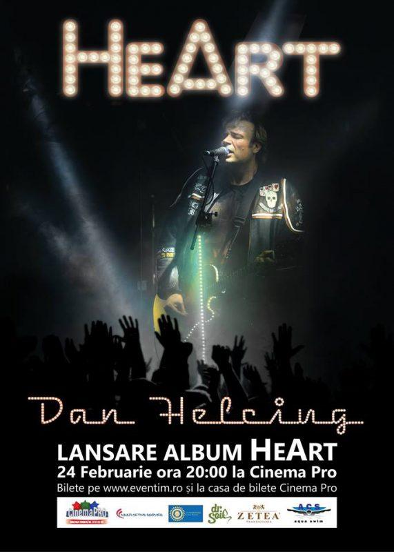 Lansare album solo HeArt semnat de Dan Helciug