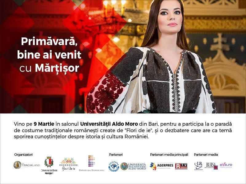Flori de Ie continuă călătoria dedicată prezentării portului tradițional românesc peste hotare