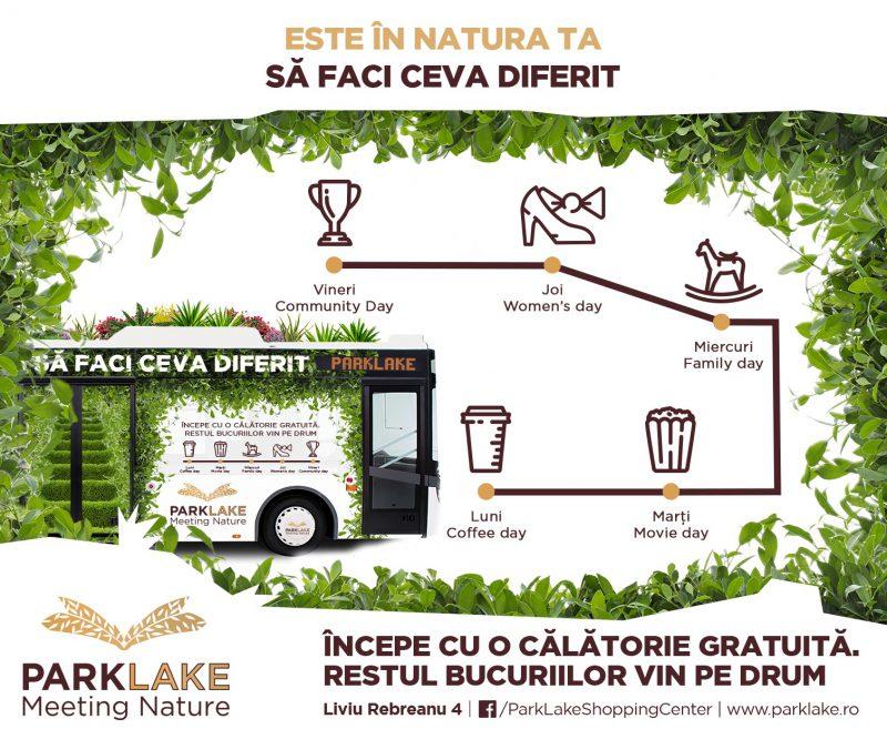 ParkLake Shopping Center lansează un serviciu de transport gratuit pentru bucureșteni
