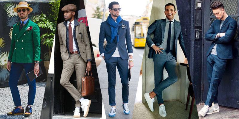 Cum asortezi pantofii sport la costum: sugestii cool de la celebritati