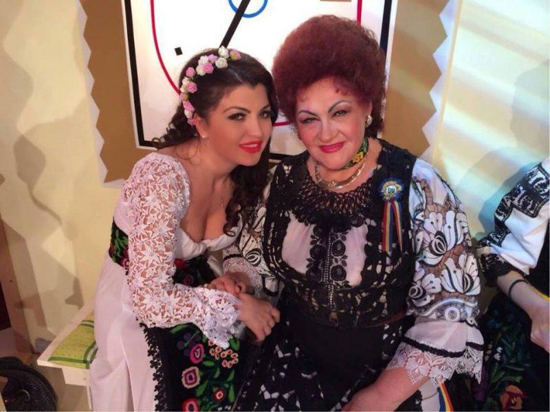 Elena Merisoreanu si Claudia Ghitulescu s-au distrat de ziua lor onomastica