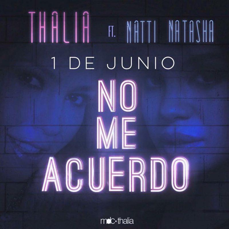 Cantareata mexicana Thalia confirma lansarea noului single pe 1 iunie