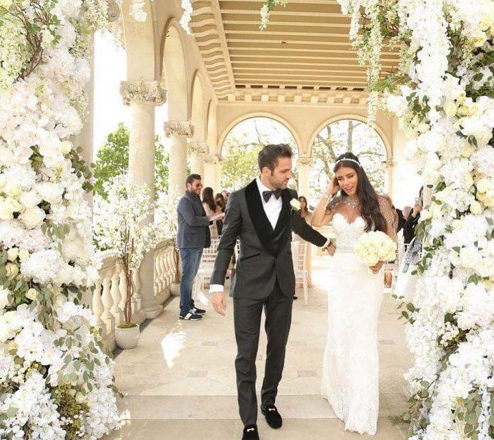 Fotbalistul Cesc Fabregas s-a casatorit in acelasi hotel unde a petrecut noaptea ducesa de Sussex