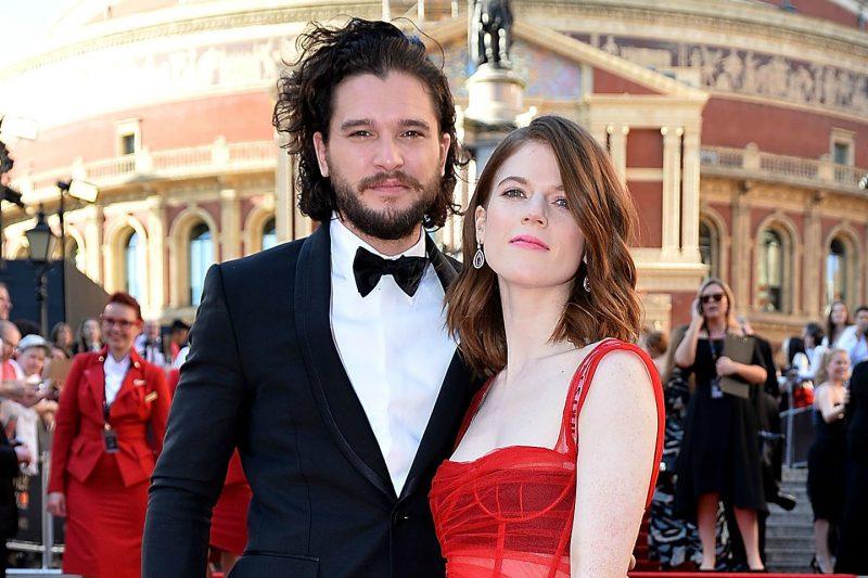 Kit Harrington si Rose Leslie se casatoresc in curand. Pana la urma, Jon Snow si Ygritte vor avea un final fericit!