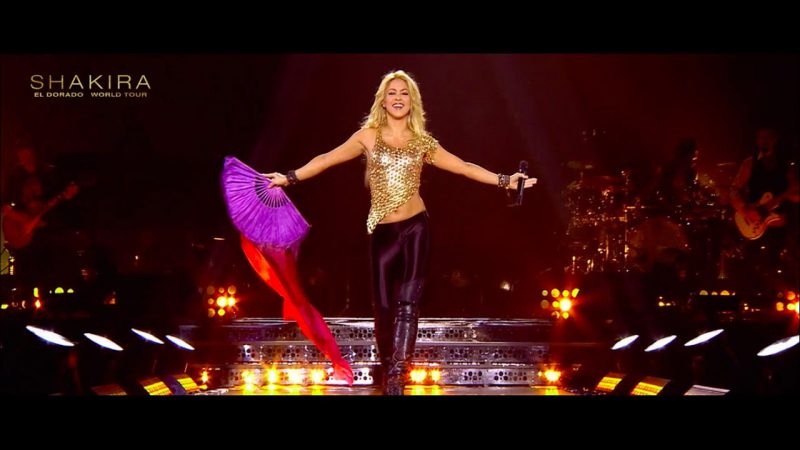 "Shakira a dat start turneului ""El Dorado"""