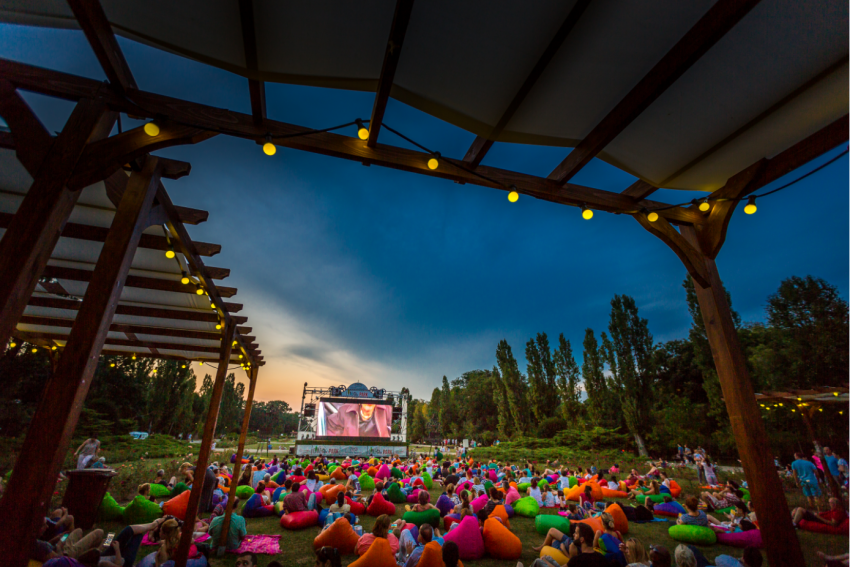 Se redeschide CinePark, cinematograful în aer liber