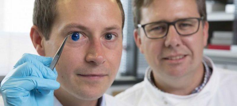 A fost creată în laborator prima cornee artificială!