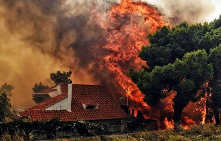 88 de oameni și-au pierdut viața în incendiile din Grecia