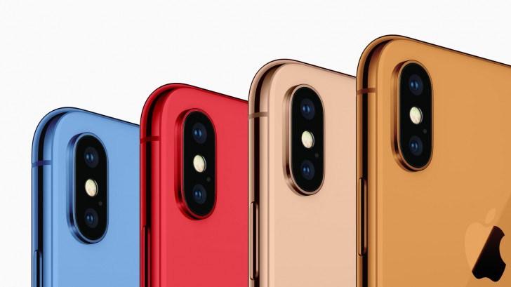Apple va lansa telefoanele iPhone 2018 în culori noi