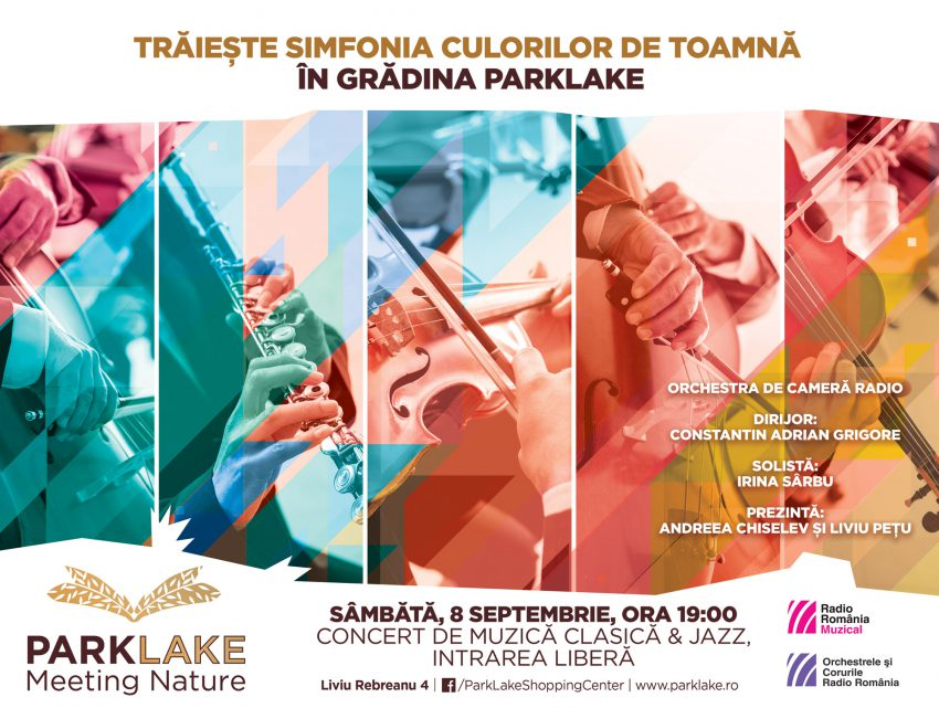 Trăiește simfonia culorilor de toamnă în Grădina ParkLake . Concert al Orchestrei de Cameră Radio