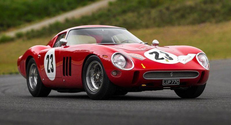 Un Ferrari din 1962, vândut pentru suma record de 48,4 milioane $