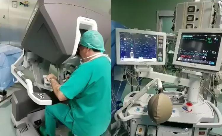 Cancer, tratat cu robotul Da Vinci. Intervenția a fost o premieră