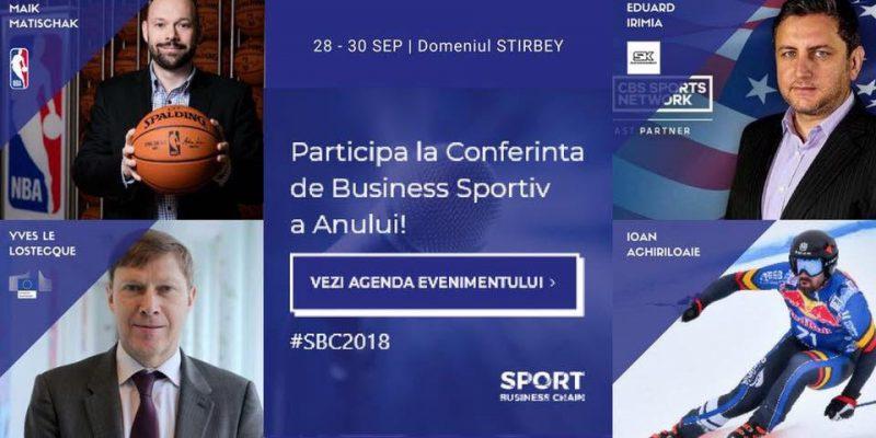 In septembrie, Bucurestiul devine capitala est-europeana a business-ului sportiv, gazduind peste 35 de lideri globali ai industriei!