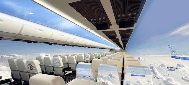 Când vor apărea avioanele SF cu vedere panoramică