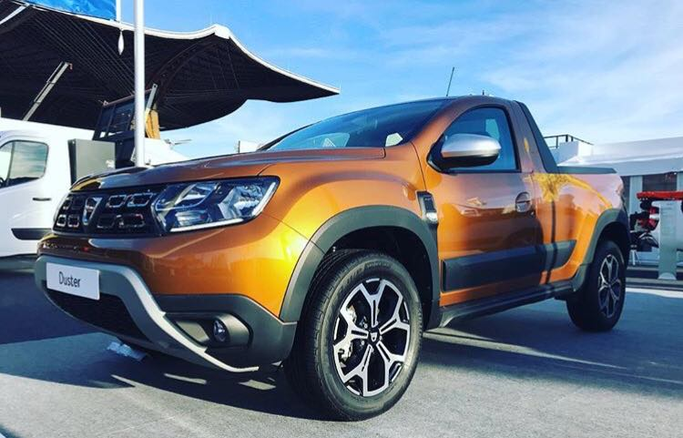 Cum arată Dacia Duster pickup
