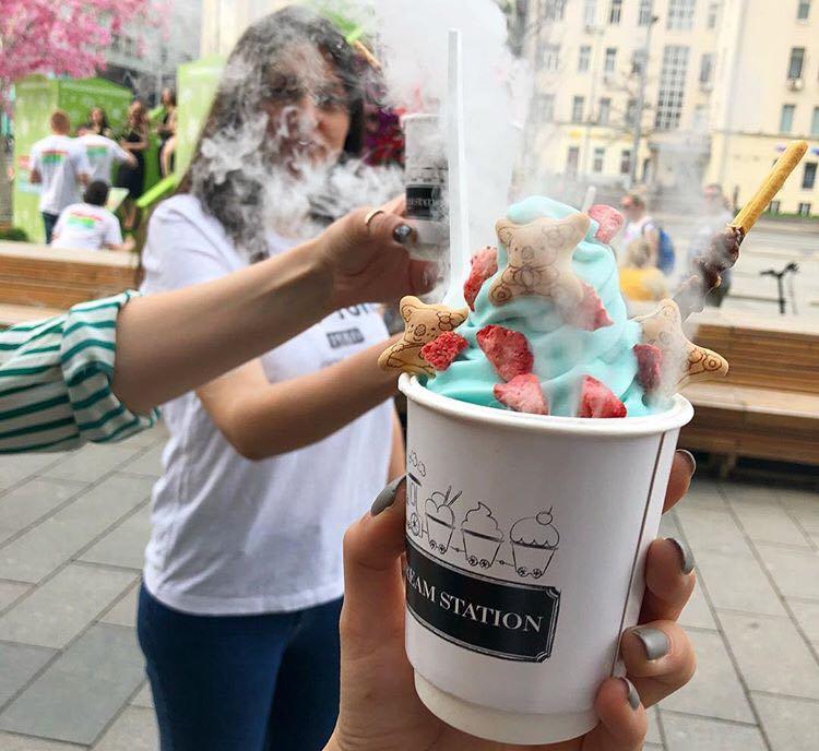 Înghețată pentru fumători, noua metodă de a renunța la viciu