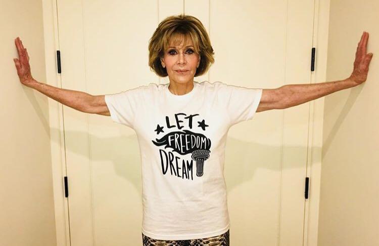 Actriţa Jane Fonda lansează o linie de vestimentație