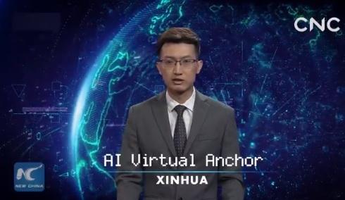 China a creat un prezentator de ştiri virtual