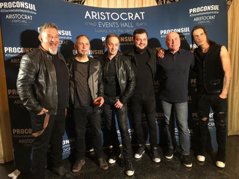 Proconsul, petrecere între prieteni de suflet pentru 20 de ani de carieră muzicală