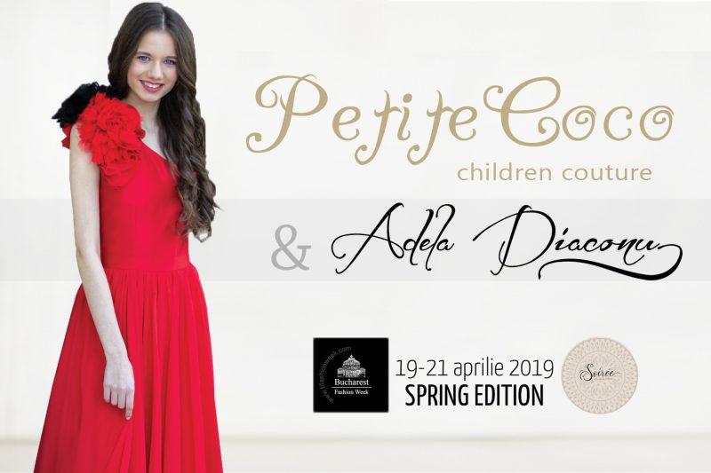 Casa de modă Petite Coco si producătorul Tv Adela Diaconu, lansează o colecție glamorous pentru copii la Bucharest Fashion Week
