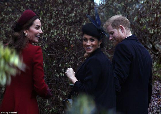Prinţul Harry şi Meghan Markle, filmați cu drona