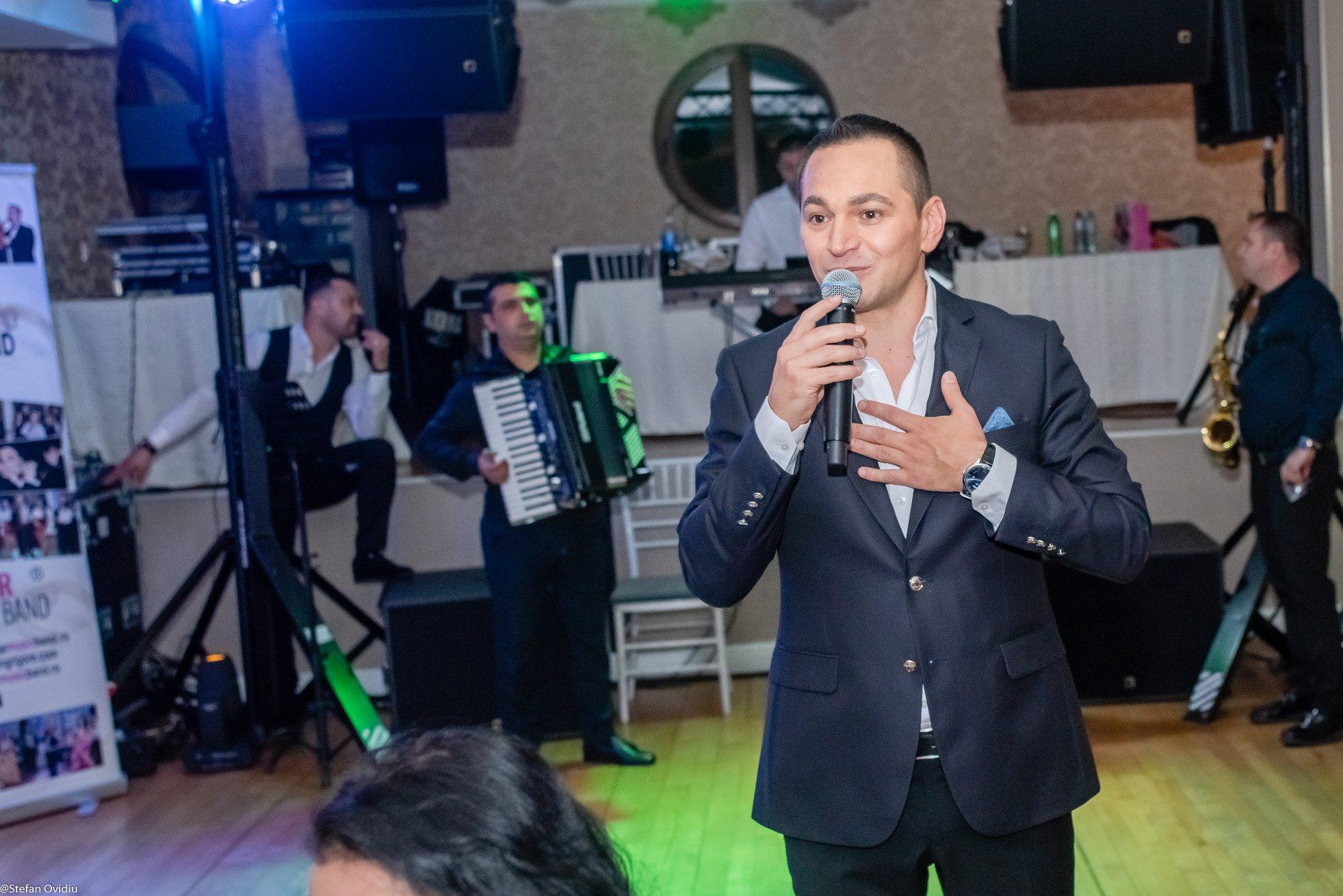 Florin Grigore, chef cu prietenii de ziua lui