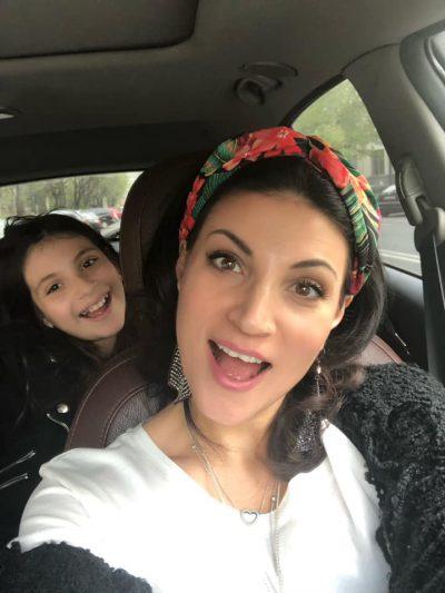 Ioana și fiica ei Ruxandra se înțeleg perfect