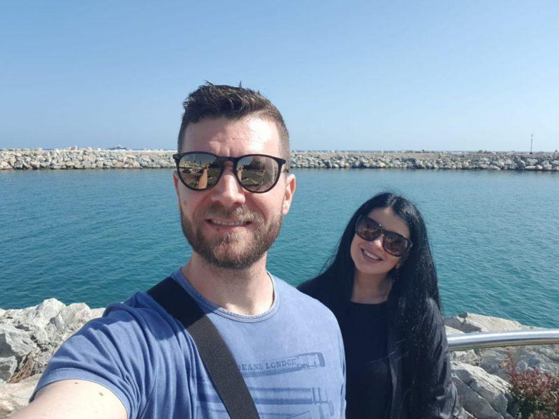 Marian Haiducu, vacanță de vis în Spania