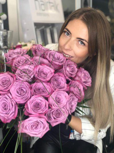 Miruna Vasile, manager The Lash Lounge