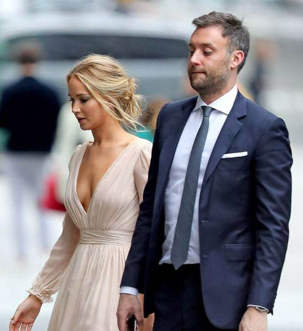 Jennifer Lawrence a celebrat logodna din februarie