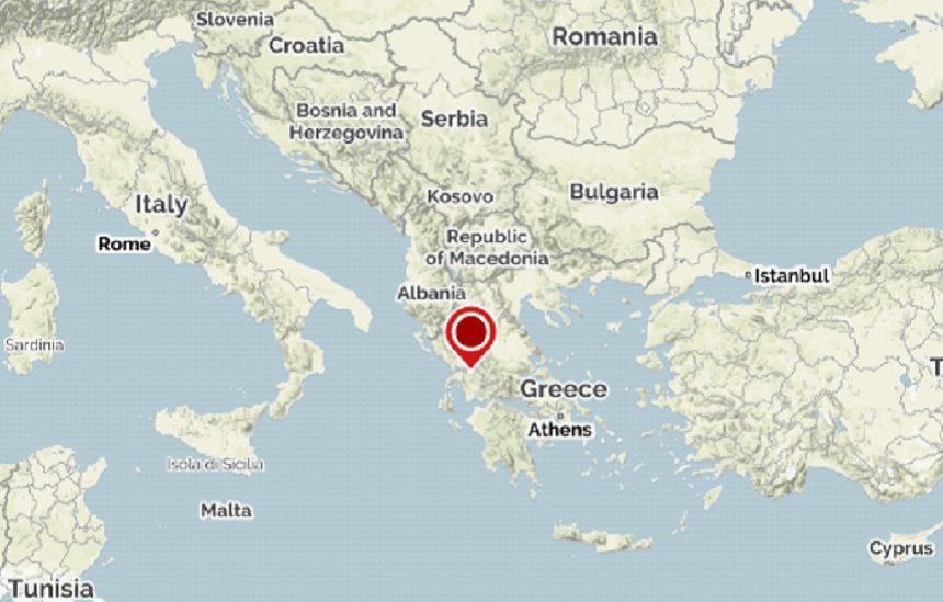 Cutremur cu magnitudinea 4,7 în vestul Greciei
