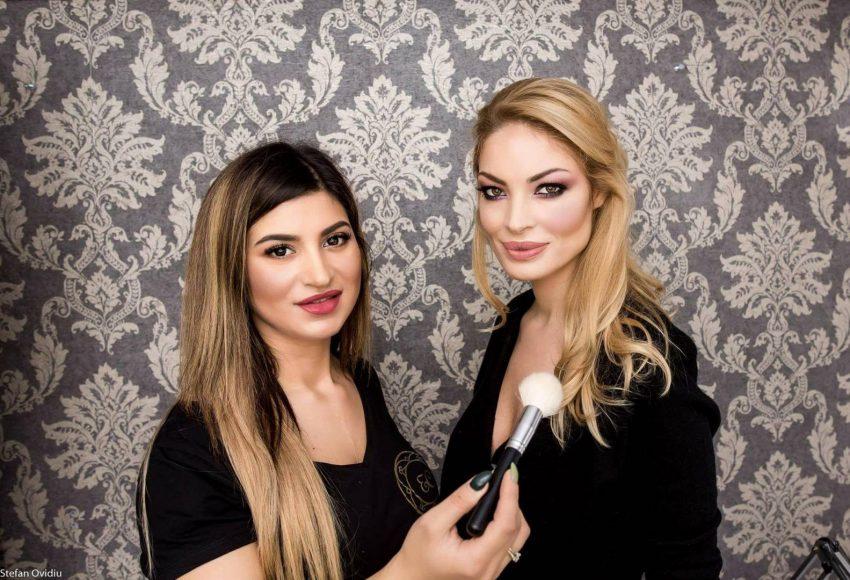 Elena Ciftci, cursuri de make-up în Anglia