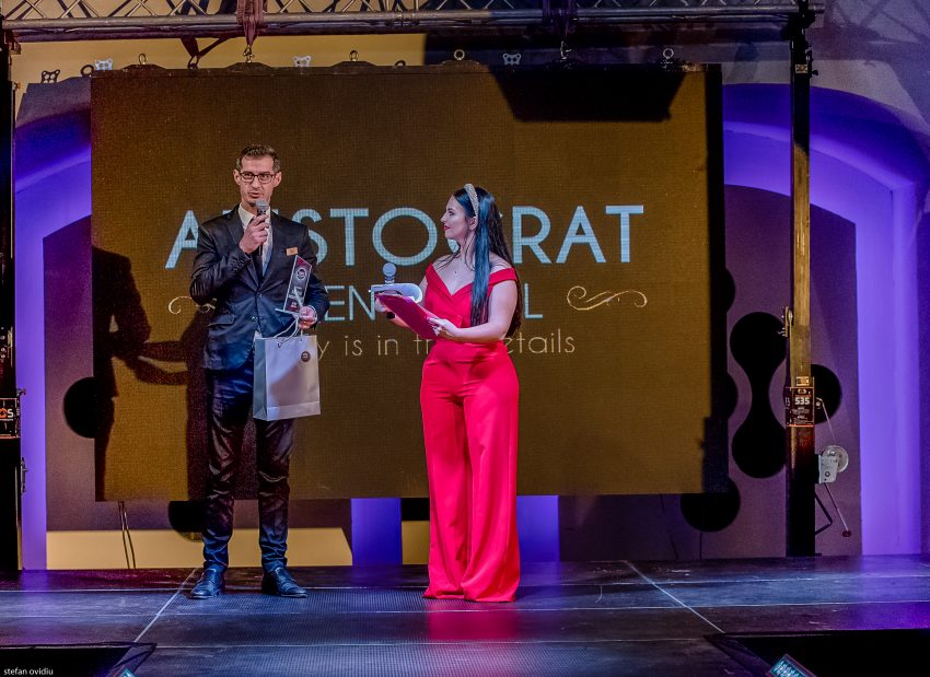 Conceptul Aristocrat Events Hall a fost premiat