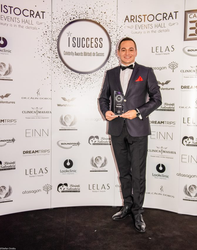 Florin Grigore premiat la Gala Barbati de Succes