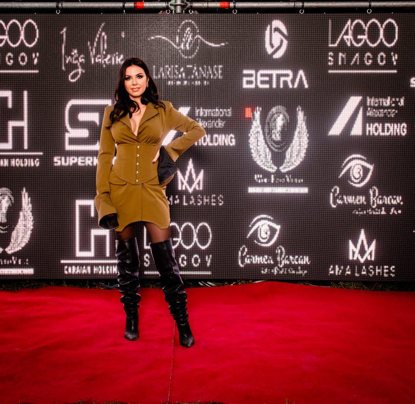 Sayra, si-a lansat noul videoclip, la un eveniment monden