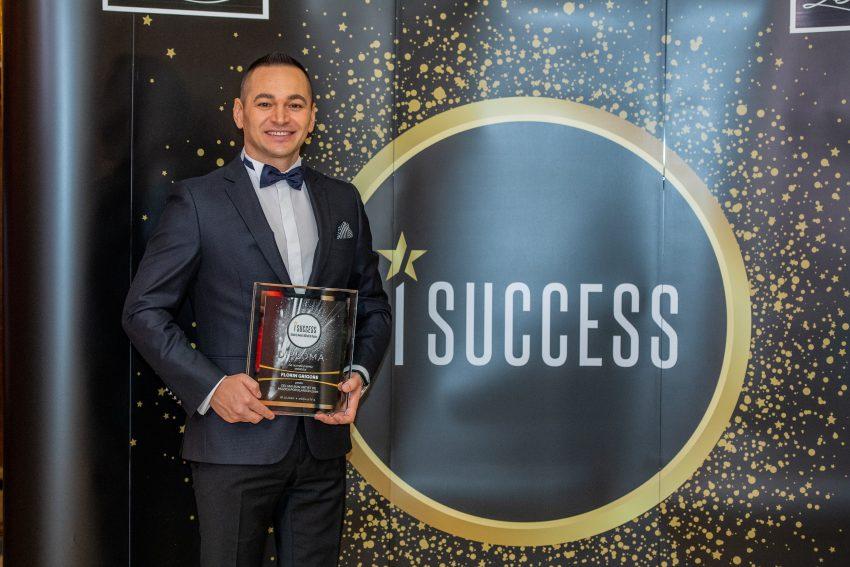 """Florin Grigore a fost premiat în cadrul galei ,,I Success – Bărbați de succes"""""""