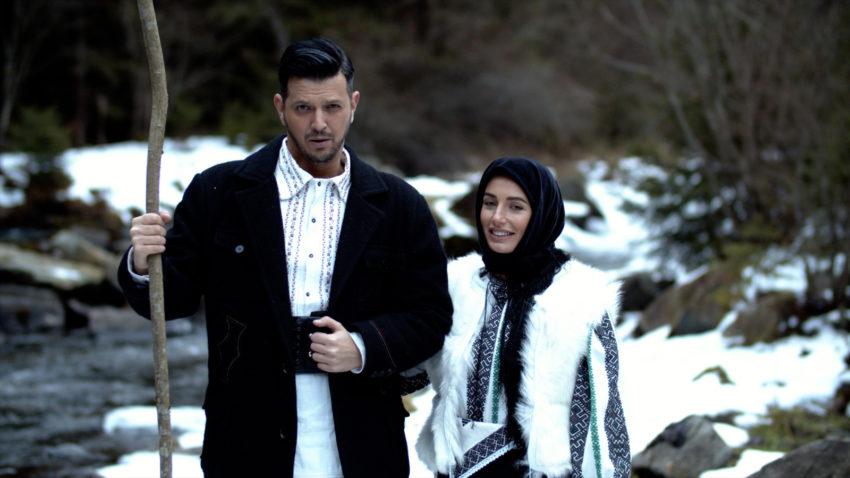 Colaborarea sfârşitului de an: interpreta Paula Hriscu şi tenorul Bogdan Mihai