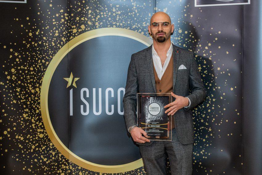"""Dr. Curt a fost premiat în cadrul galei ,,I Success – Bărbați de succes"""""""