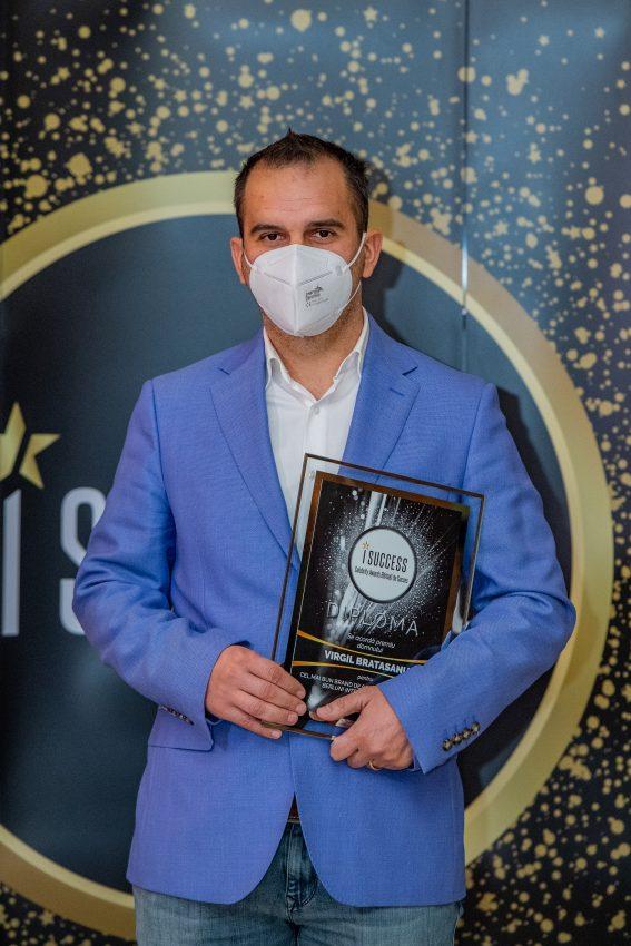 """Virgil Bratasanu a fost premiat în cadrul galei ,,I Success – Bărbați de succes"""""""