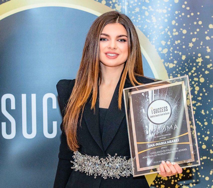 """Ana-Maria Ababei a fost premiată în cadrul galei ,,I Success – Femei de succes"""" 2020"""