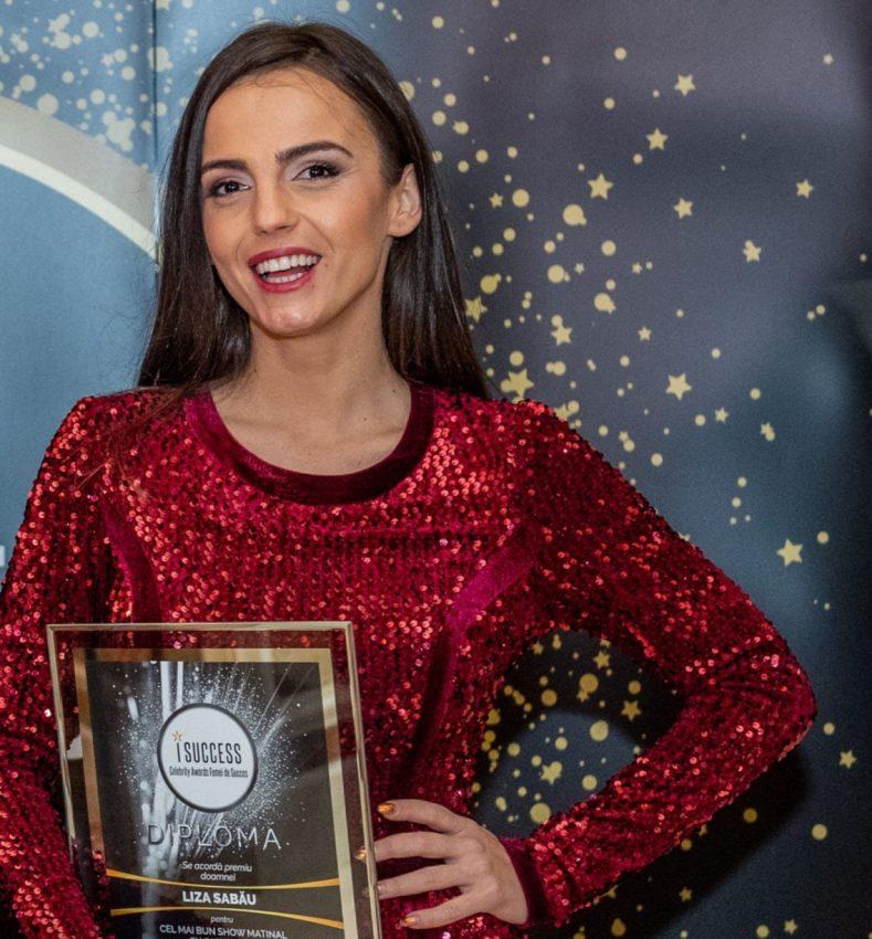 """Liza Sabău a fost premiată în cadrul galei ,,I Success – Femei de succes"""" 2020"""