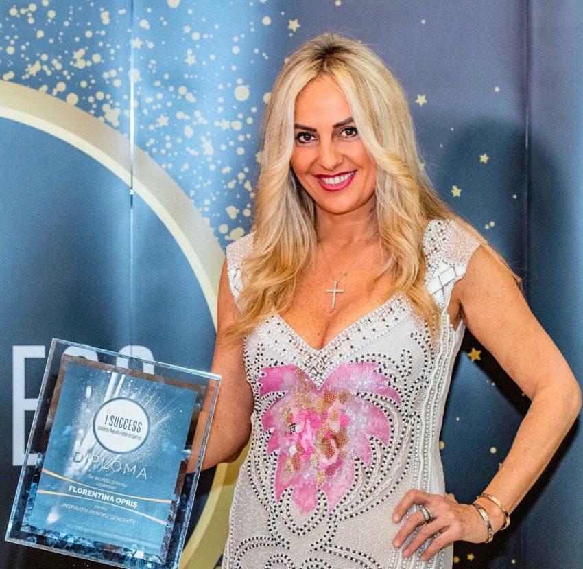 """Florentina Opriș a fost premiată în cadrul galei ,,I Success – Femei de succes"""" 2020"""