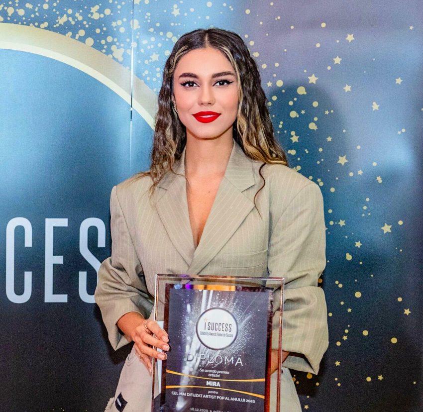 """Mira a fost premiată în cadrul galei ,,I Success – Femei de succes"""" 2020"""