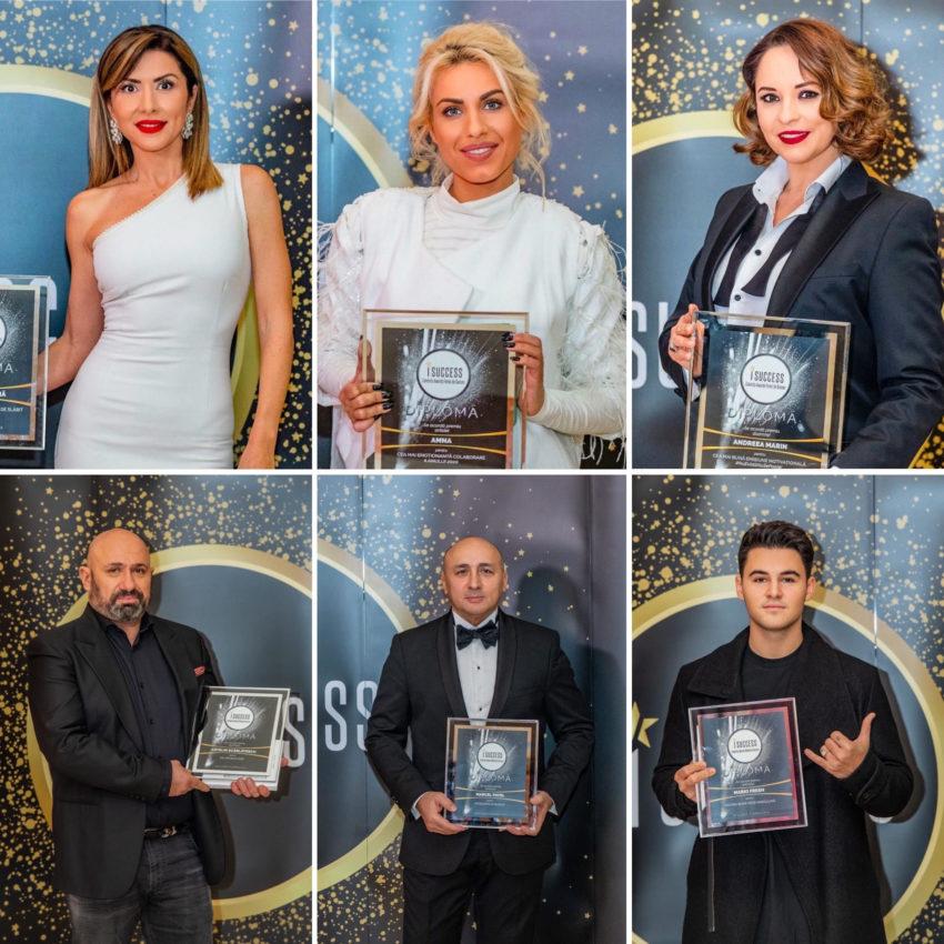 Vedetele au fost premiate in cadrul galei I Success 2020