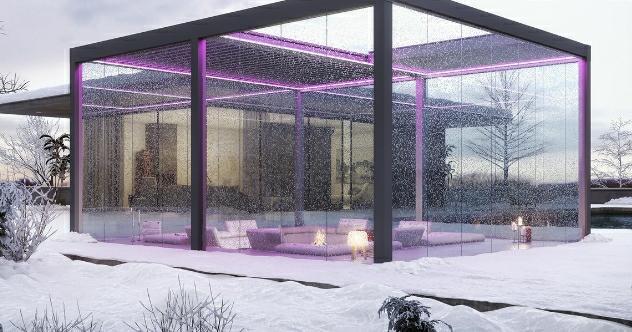 Cum sa ai parte de o terasa de vis iarna?  Optiuni de design, dar si de eficienta termica.