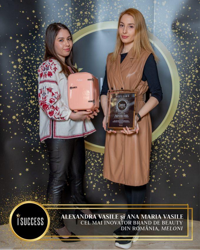Brandul Meloni a fost premiat pentru Cel mai inovator brand de produse cosmetice din România