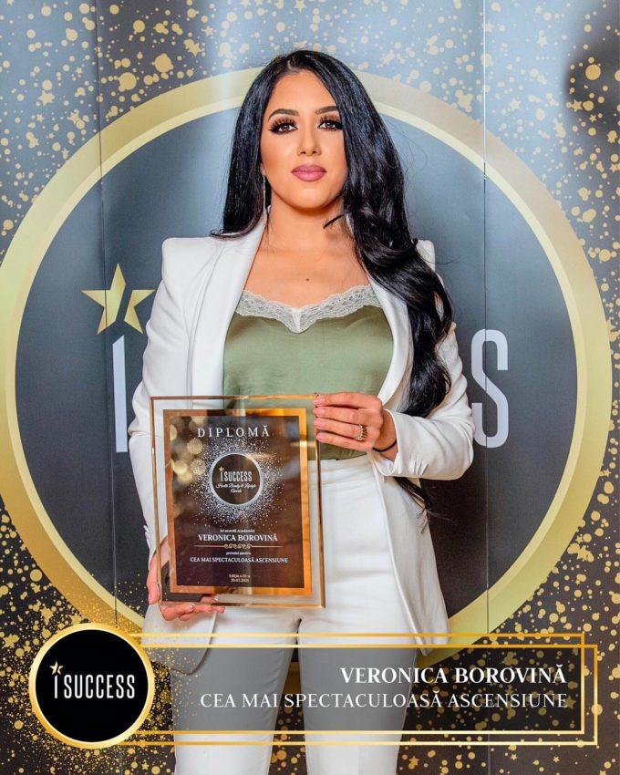 Veronica Borovină a primit premiul pentru Cea mai spectaculoasă ascensiune